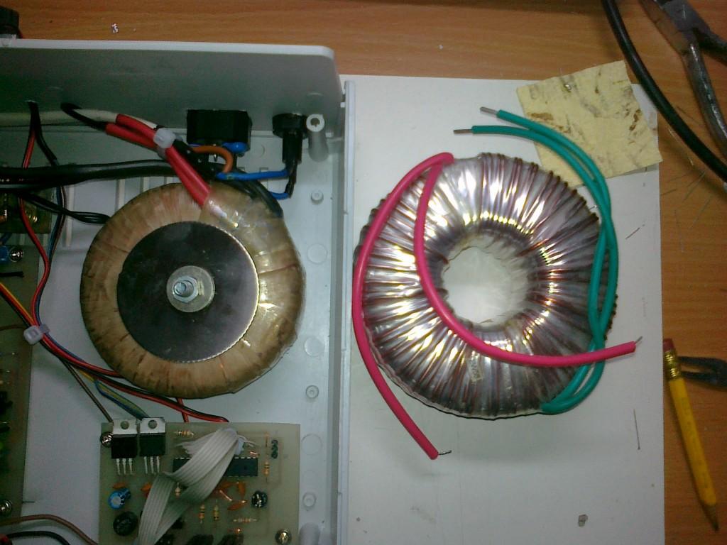 wymiana transformatora toroidalnego