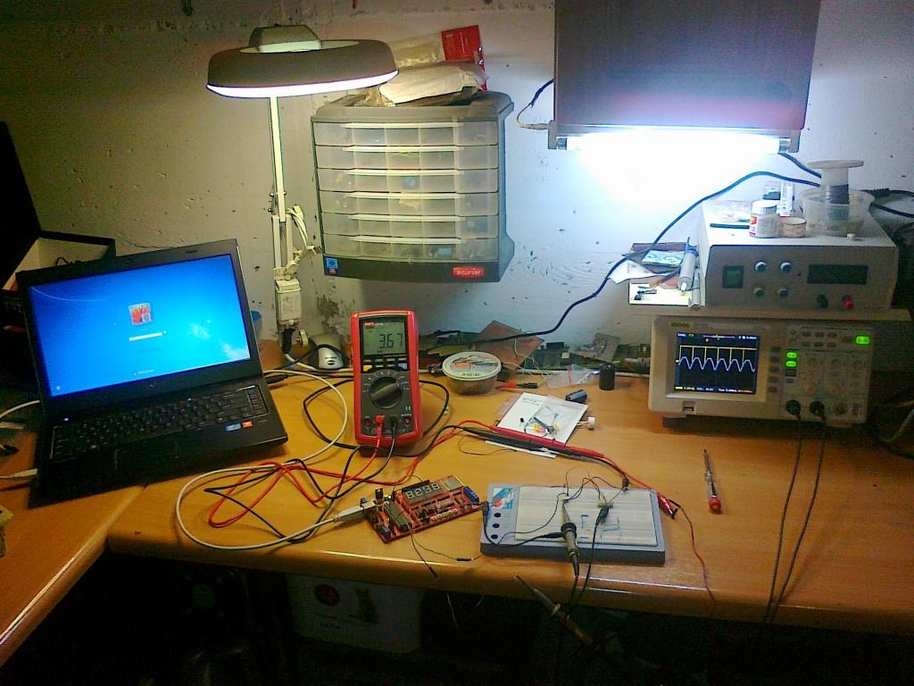 EVB4.3 testowe środowisko detekcji zera